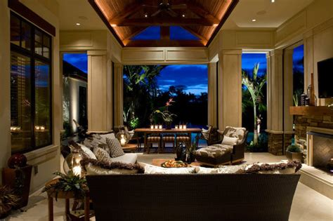 The Living Room Miami Fl Residence Naples Florida Contemporary
