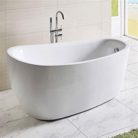 freestanding bathtub canada 67 in white acrylic freestanding bathtub dk q168