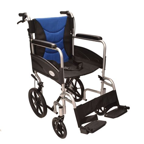 used wheelchair ultra lightweight aluminium folding transit wheelchair ectr07 used fenetic wellbeing