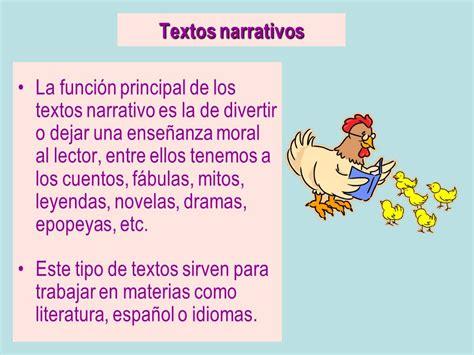 un testo narrativo cuadros 243 pticos sobre textos narrativos y sus tipos
