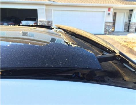 Toyota Venza 2010 Problems 2010 Toyota Venza Sunroof Shattered 1 Complaints