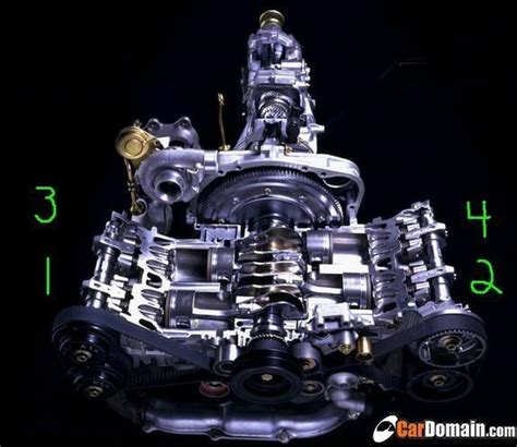 subaru firing order what is the firing order and location of cylinder 1