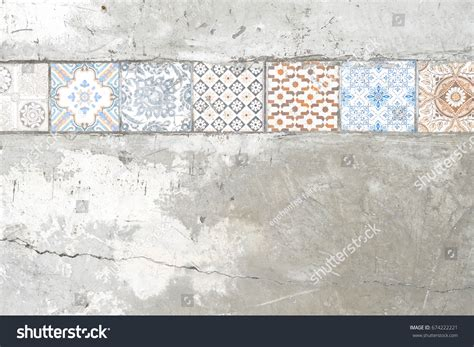 italian ceramic the maiolica pavement tiles of the fifteenth century with illustrations classic reprint books paving tiles pattern on concrete stock photo 674222221