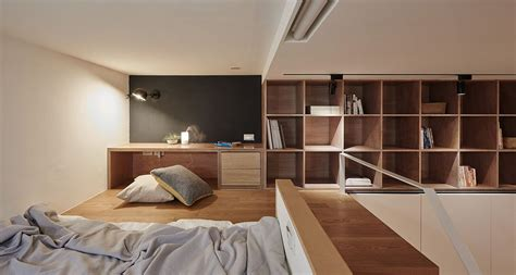 Micro Homes Interior going vertical tiny 22 sqm apartment maximizes space in style