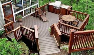Backyard Deck Designs Plans 20 Beautiful Wooden Deck Ideas For Your Home