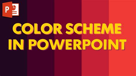 powerpoint template color scheme how to import a color scheme into powerpoint