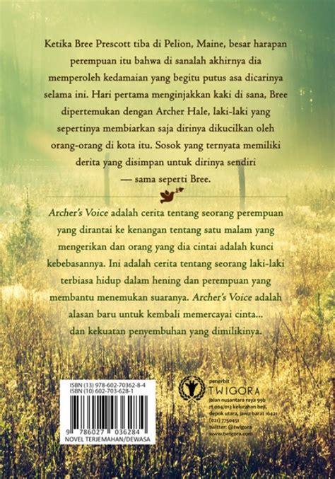 Novel Archers Voice bukukita archers voice toko buku