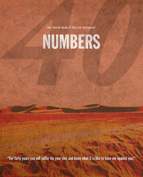 by the numbers books numbers books of the bible series testament minimal