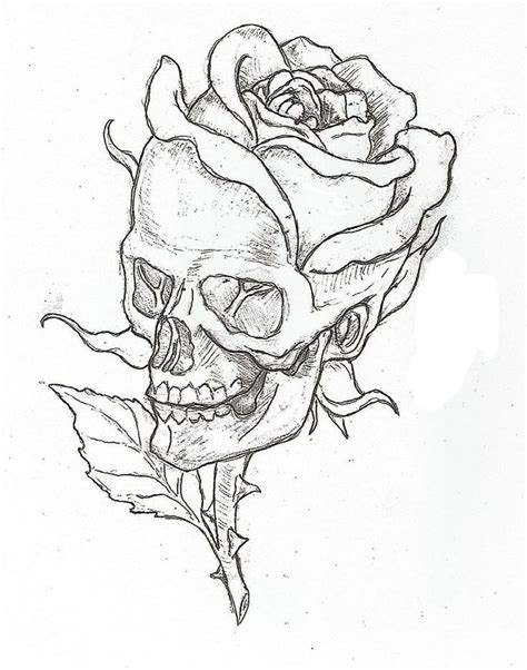 easy tattoo drawing ideas 1000 ideas about rose drawings on pinterest drawing