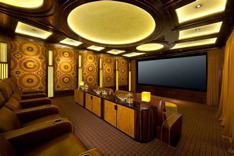 movie theater home decor diy home theater decor home theater transitional with
