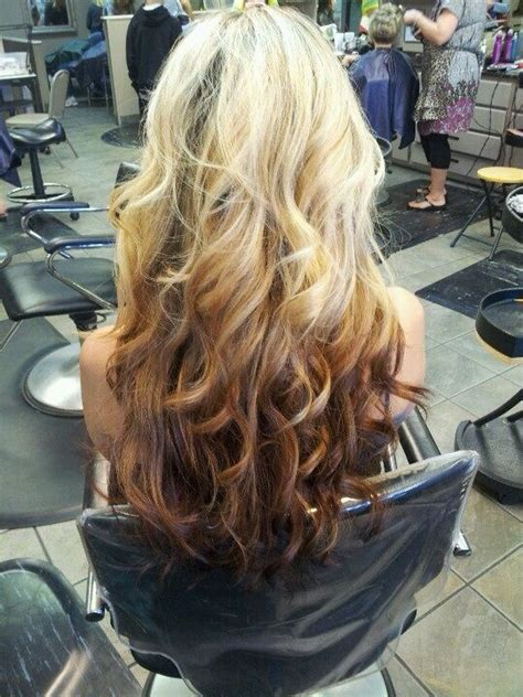reverse ombre but only at the very bottom les 20 meilleures images du tableau ombr 233 hair invers 233 sur
