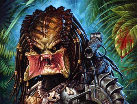 mondo poster art for terminator and predator geektyrant