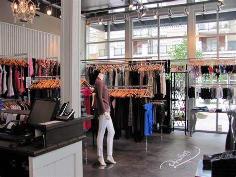 shopping ideas boutique of the week privilege clothing bc boutiques