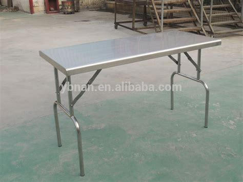 Folding Stainless Steel Table Stainless Steel Cing Folding Table Folding Table Buy Stainless Steel Cing Folding