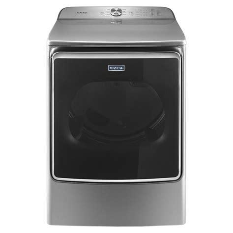 maytag 9 2 cu ft gas dryer in metallic slate mgdb955fc