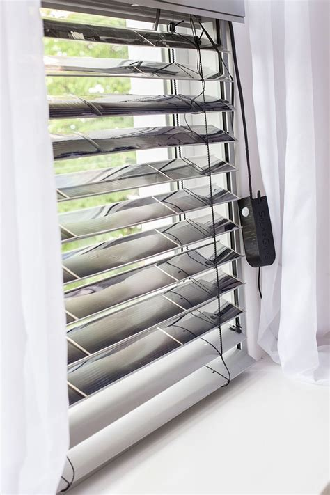 window blinds technology solargaps smart solar blinds power your household devices