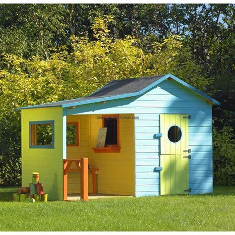 maison de jardin enfant en bois maisonnette bois enfant l hacienda maisonnette cabanes en bois cabanes et
