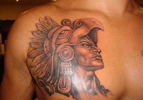 aztec warrior tattoo 50 traditional aztec tattoos for chest