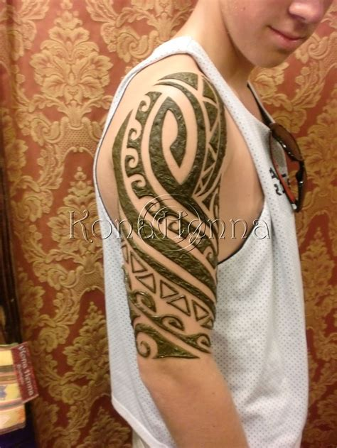henna tattoo mens best 25 tribal henna ideas on