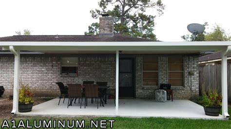 Patio Covers Baytown Tx Before And After Patio Cover In Baytown 187 A 1