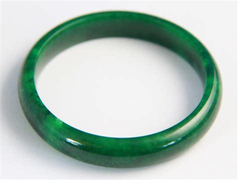 Jade Bangle iron green jade bangle g046