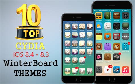themes for cydia iphone 4 top 10 brand new cydia winterboard themes for ios 8 4 8