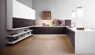 Kitchen Design Modern Modern Simple And Spacious Kitchen Stylehomes Net