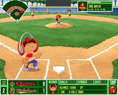 Backyard Baseball Play Backyard Baseball Version For Windows