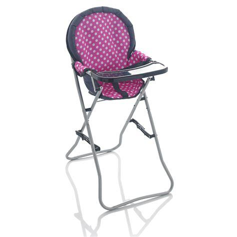 Doll High Chair by Molly Dolly Deluxe 66cm Dolls High Chair Feeding Seat Ebay
