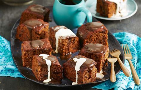 sticky date pudding cake  tea spiked caramel sauce