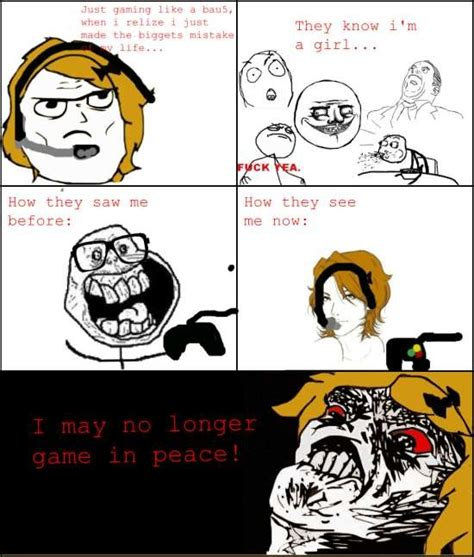 Girl Gamer Meme - meme angry gamer girl image memes at relatably com