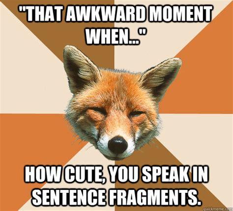 Meme Sentences - fragment wr 115