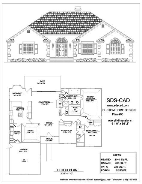complete house plan house plan complete plans blueprints construction documents from sdscad to the white