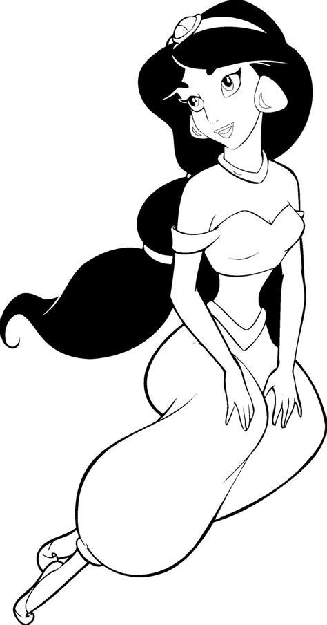 Princess Jasmine Coloring Book