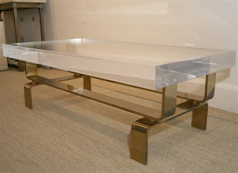 coffee table lucite coffee table lucite coffee table cb2
