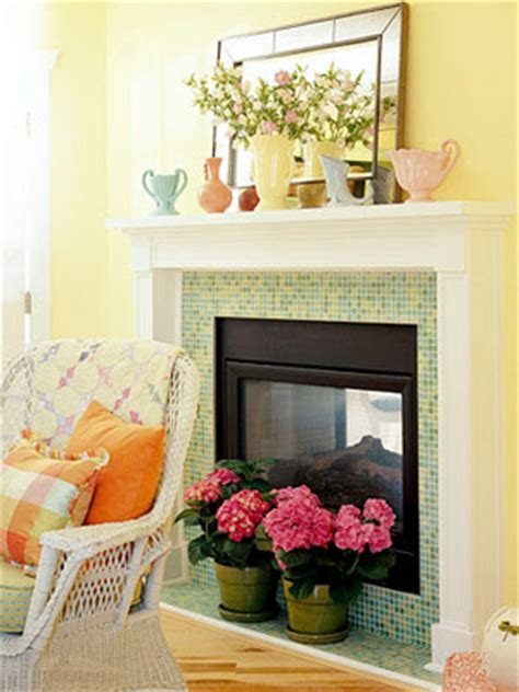 fireplace fillers comfort luxury off season fireplace fillers