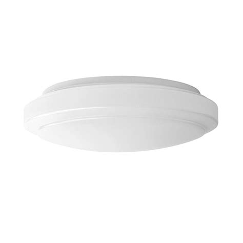 Bright Ceiling Light Hton Bay 12in 2 Light Bright Cool White Led Flushmount Ceiling Light Fixture Dimmable