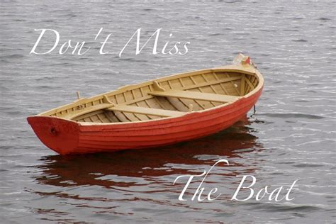 miss the boat don t miss the boat sunday sermon 5 1 16 youtube