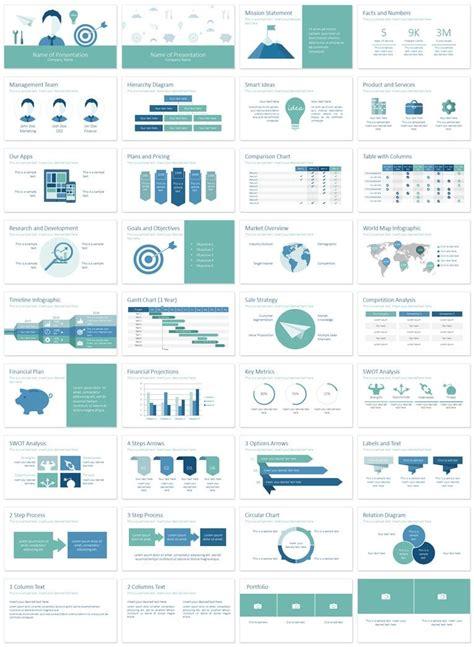 Business Plan Powerpoint Template Powerpoint Templates Pinterest Business Plan Powerpoint Template Design