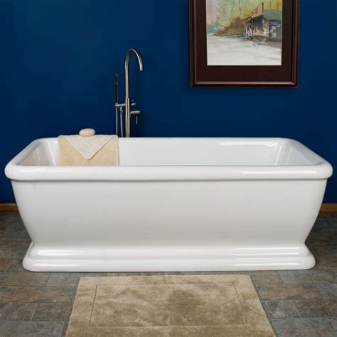 56 freestanding bathtub 56 inch freestanding tub home design plan