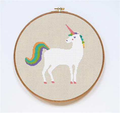 unicorn needlepoint pattern modern cross stitch pattern unicorn cross stitch pattern