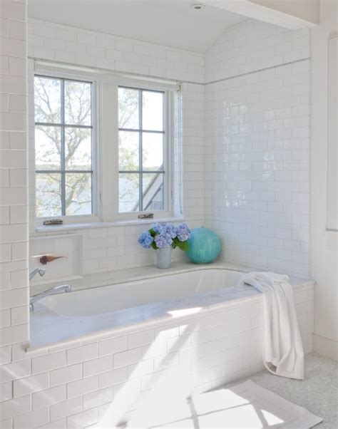 Subway Tile Bathroom Ideas Shelter Island House 183 More Info