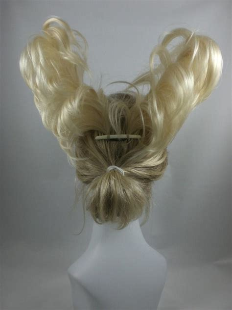 top knot or bun hair wiglet bun based wiglet chignon updo w drawstring hairpiece