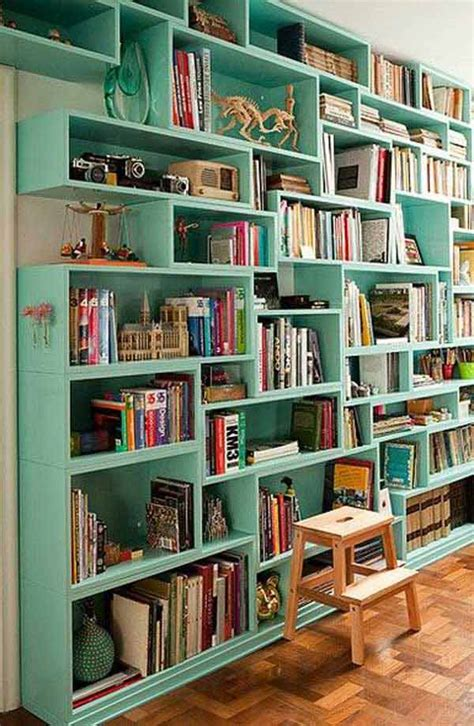 24 Insanely Beautiful Wall Bookshelves For Enthusiast Readers Beautiful Bookshelves