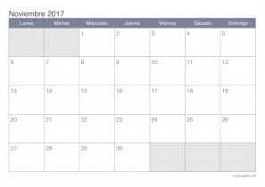 Calendario 2017 Office Calendario Noviembre 2017 Para Imprimir Icalendario Net