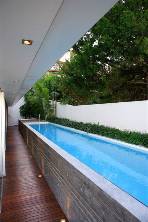 backyard lap pool lap pool above ground for the home pinterest