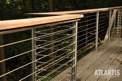 cable banister atlantis cable railing stainless styeel cable rail system