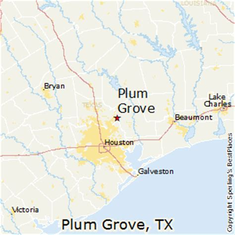 grove texas map best places to live in plum grove texas