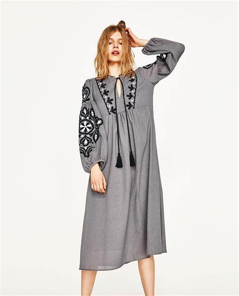 Top Model Zara Collection abito zara collezione primavera 2017 the house of