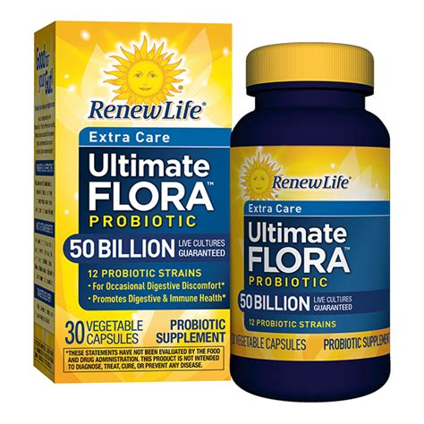 Probiotics Liver Detox by Ultimate Flora Care Probiotic 50 Billion